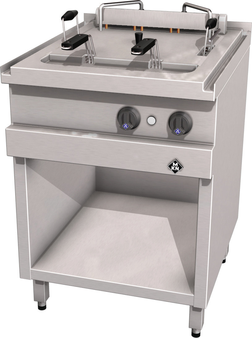 Elektro-Fritteuse 1 x 30,00 l / Paris / 20,00 kW / 600 x 700 x 700 mm + Zusatz