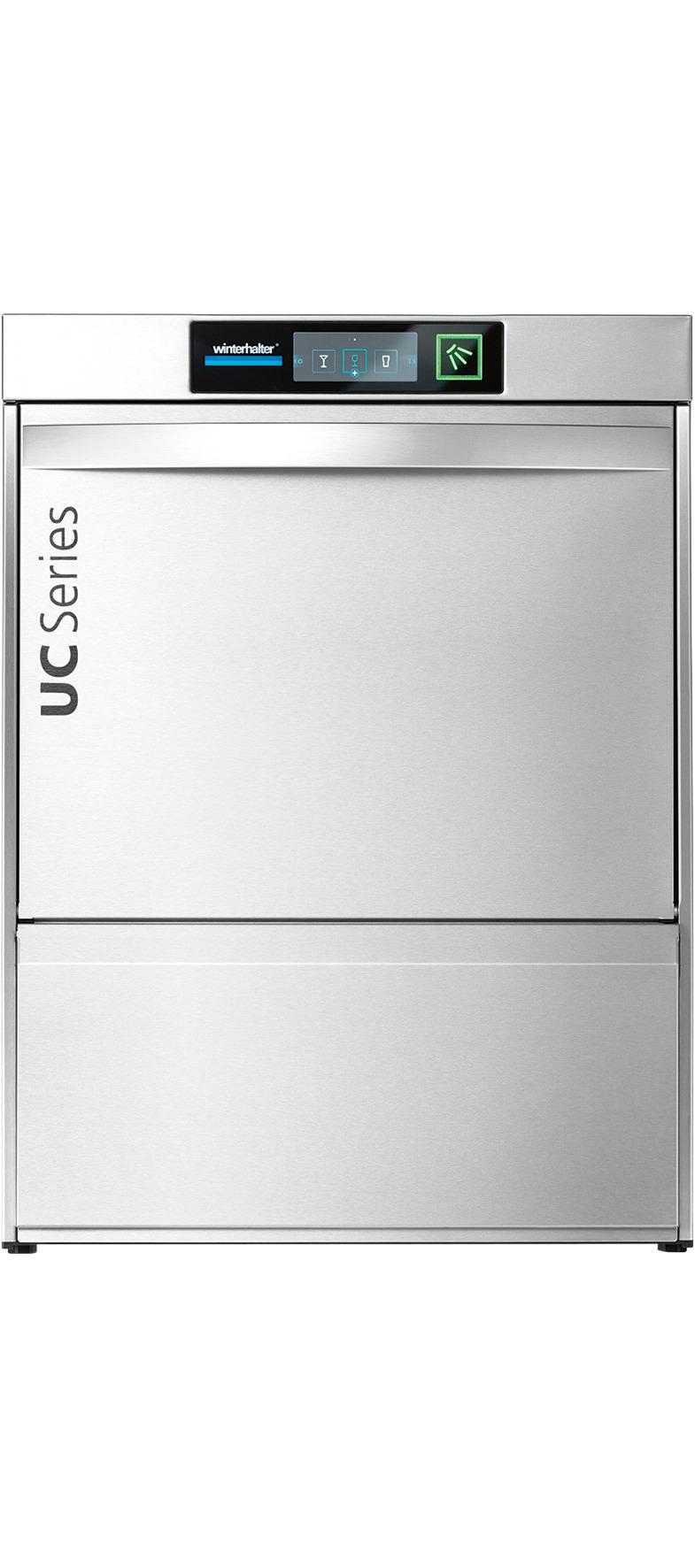 Geschirrspülmaschine UC-L / 500 x 500 mm / mit Enthärter + Sauglanzen / 400 V