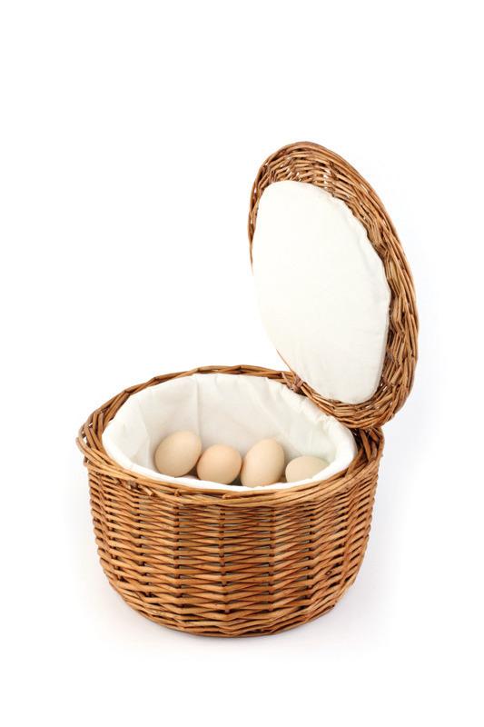 Eierkorb rund 260 x 260 x 170 mm für 20 Eier