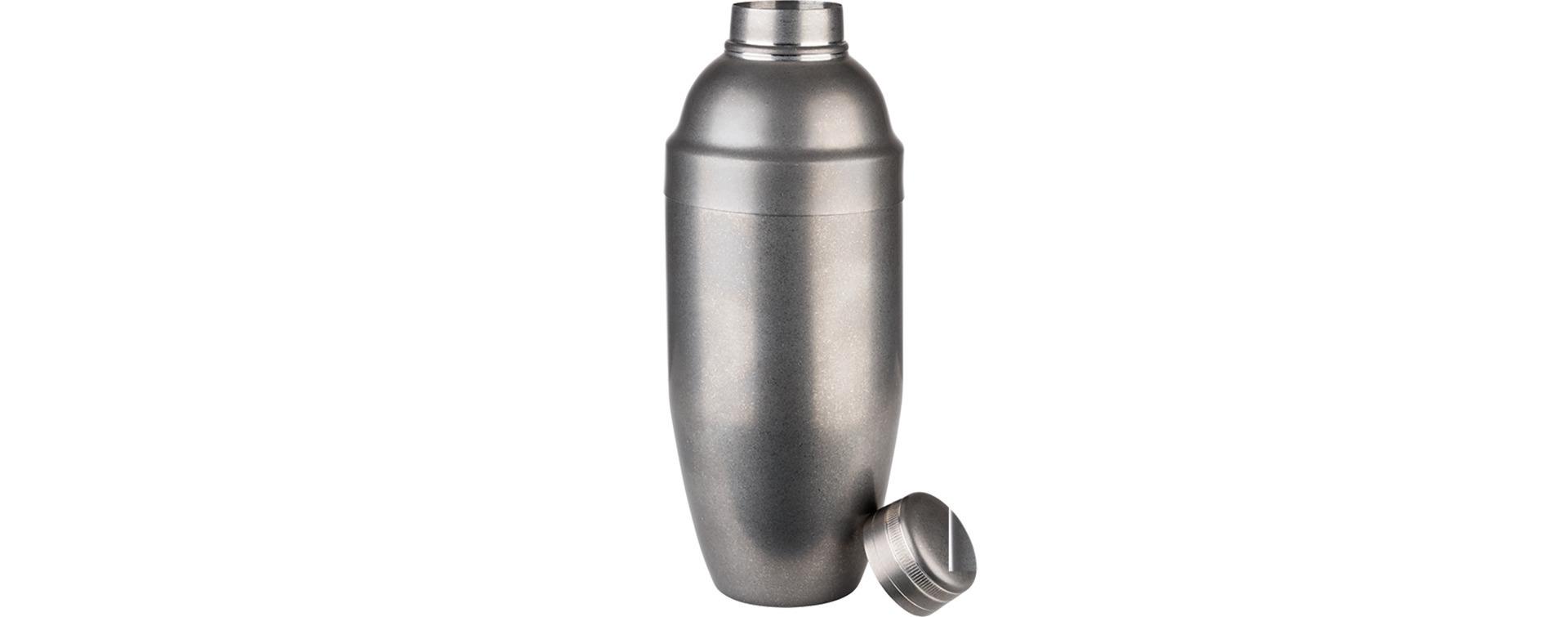 Shaker 0,70 l Edelstahl Antik-Edelstahl-Look