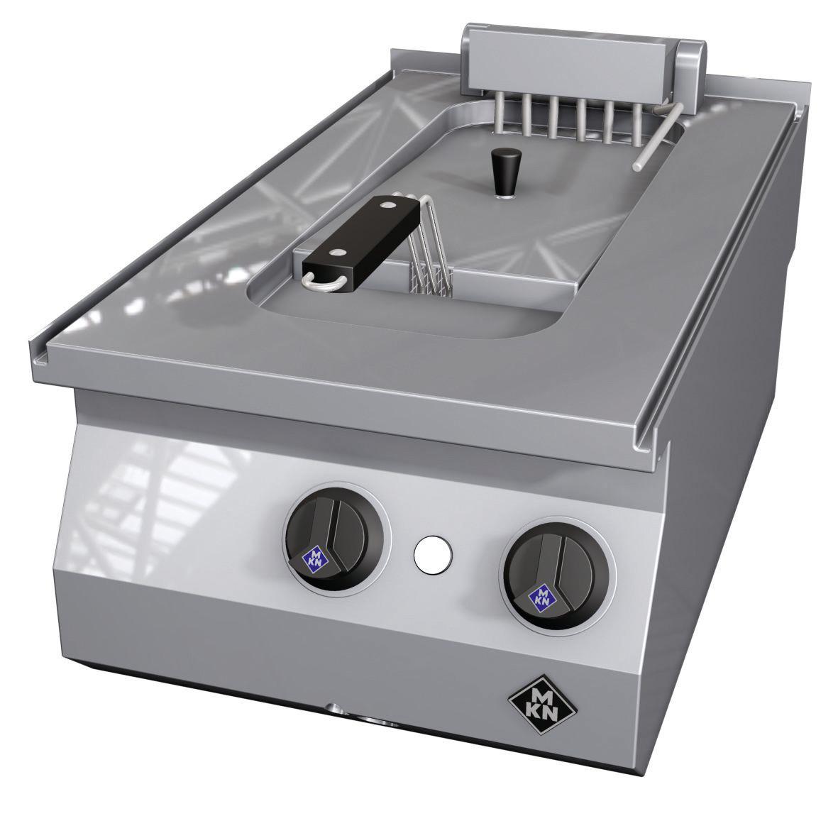 Elektro-Fritteuse 1 x 12,50 l / London I 6,00 kW / 400 x 700 x 270 mm/Counter SL
