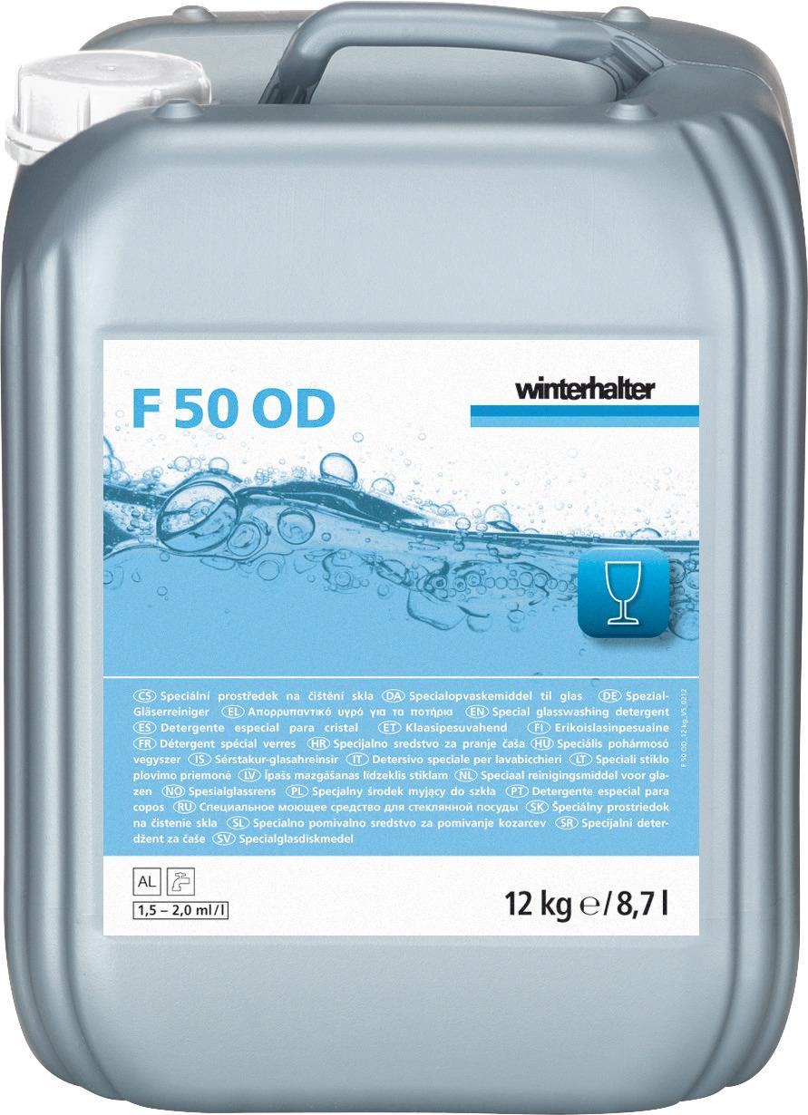 Spezial-Gläserreiniger F 50 OD / 12,00 kg Kanister