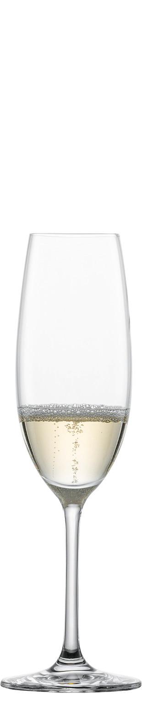 Sektglas 70 mm / 0,23 l 0,10 /-/  mit Moussierpunkt