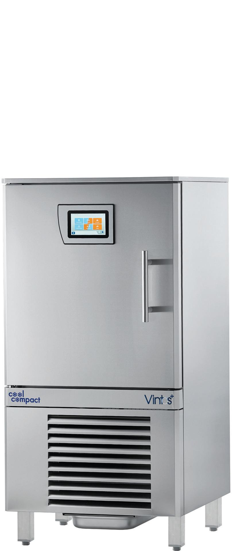 Schnellkühler / Schockfroster 8 x GN 1/1 Quereinschub / zentralgekühlt