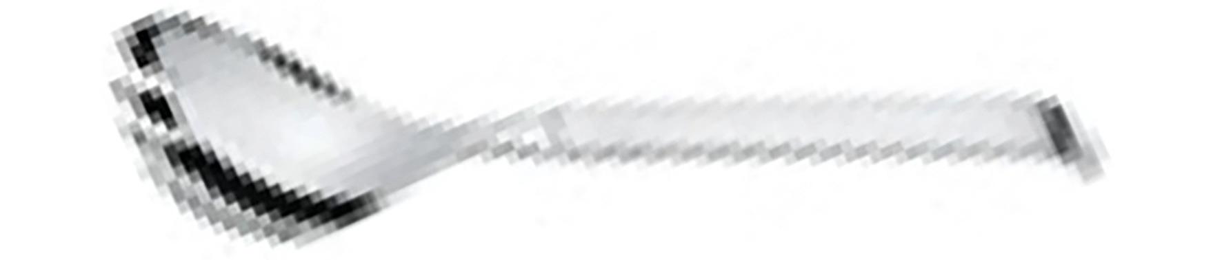 Vorlegegabel 290 mm / Edelstahl