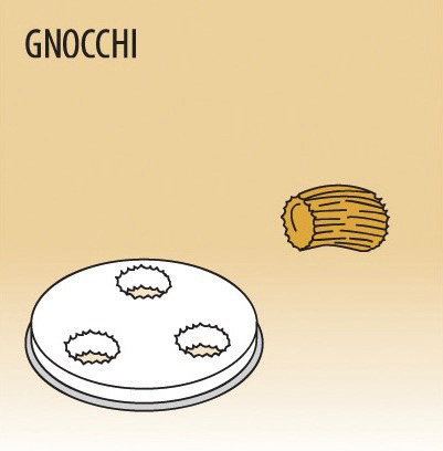 Matrize Gnocchi für Nudelmaschine 516002 bis 516004