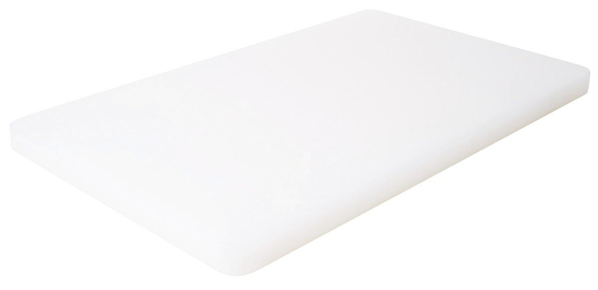 GN-Schneidbrett HACCP GN 1/1 530 x 325 x 25 mm mit Füßchen / weiß