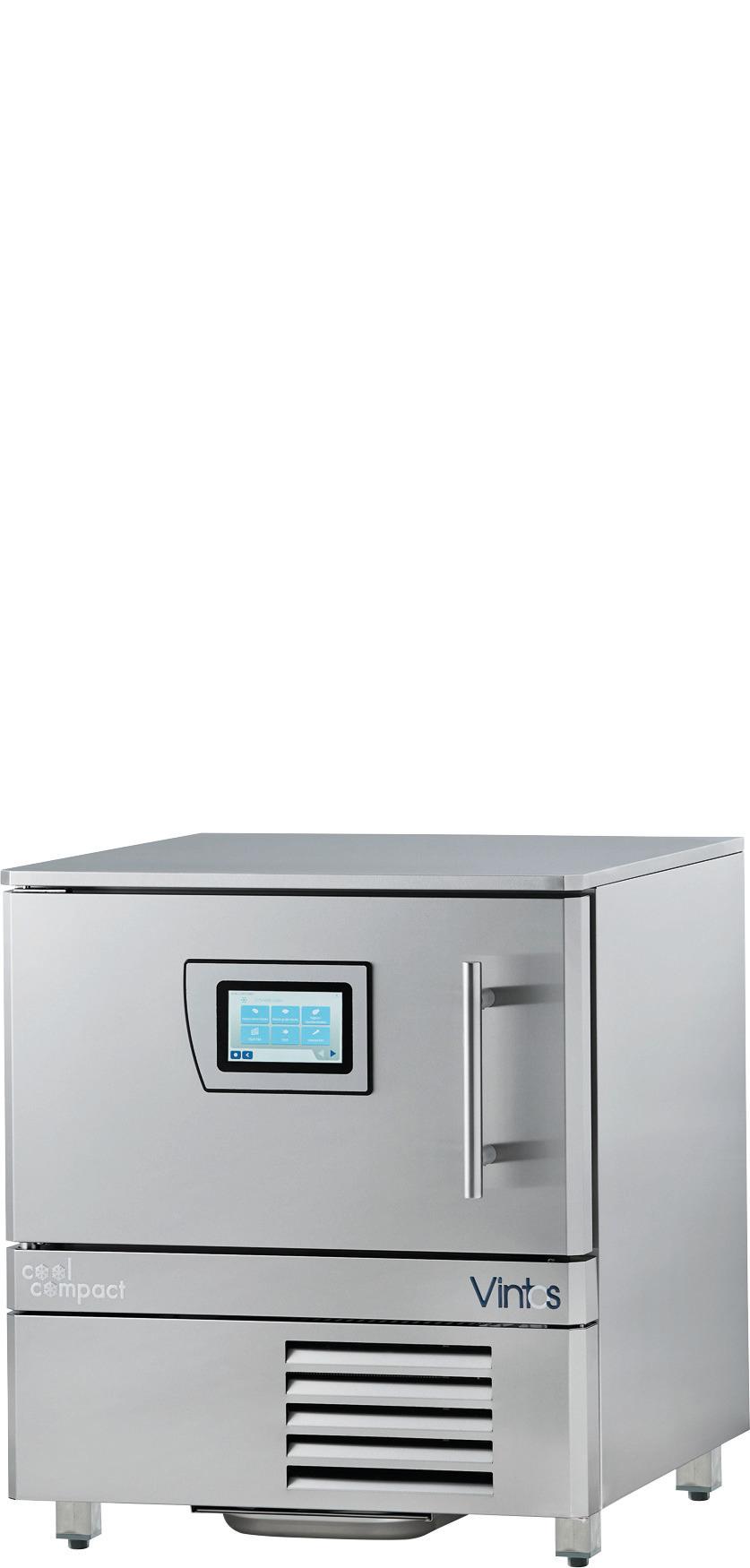 Schnellkühler / Schockfroster 4 x GN 1/1 Quereinschub / zentralgekühlt