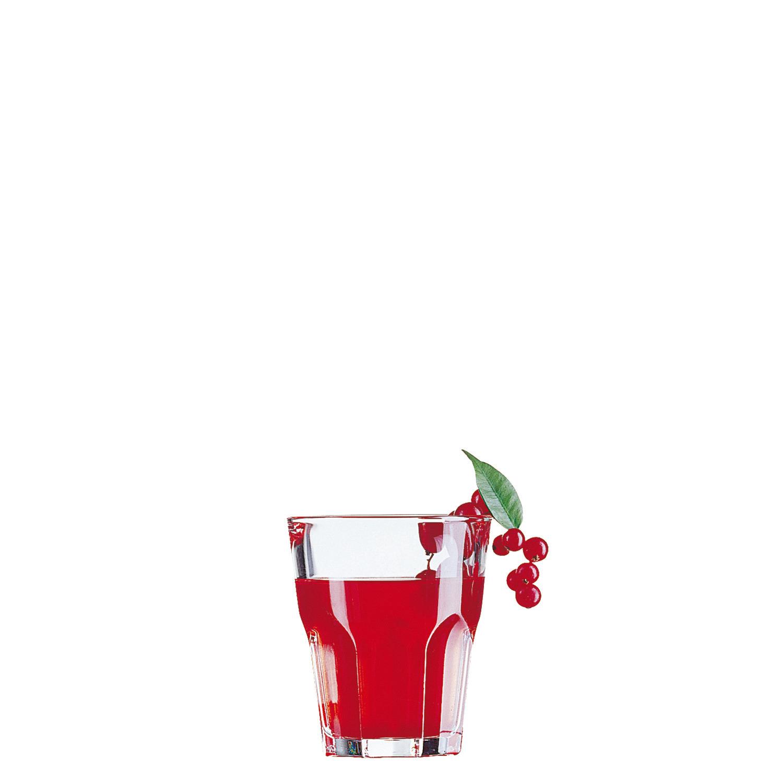 "Whiskyglas stapelbar ""FB27"" 85 mm / 0,28 l transparent"