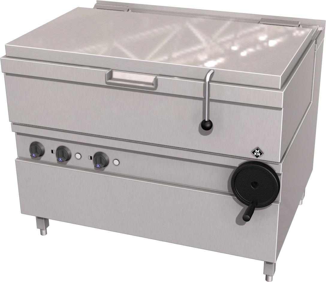 Elektro-Kippbratpfanne 89,00 l GN 3/1 Handkippung / Optima 850