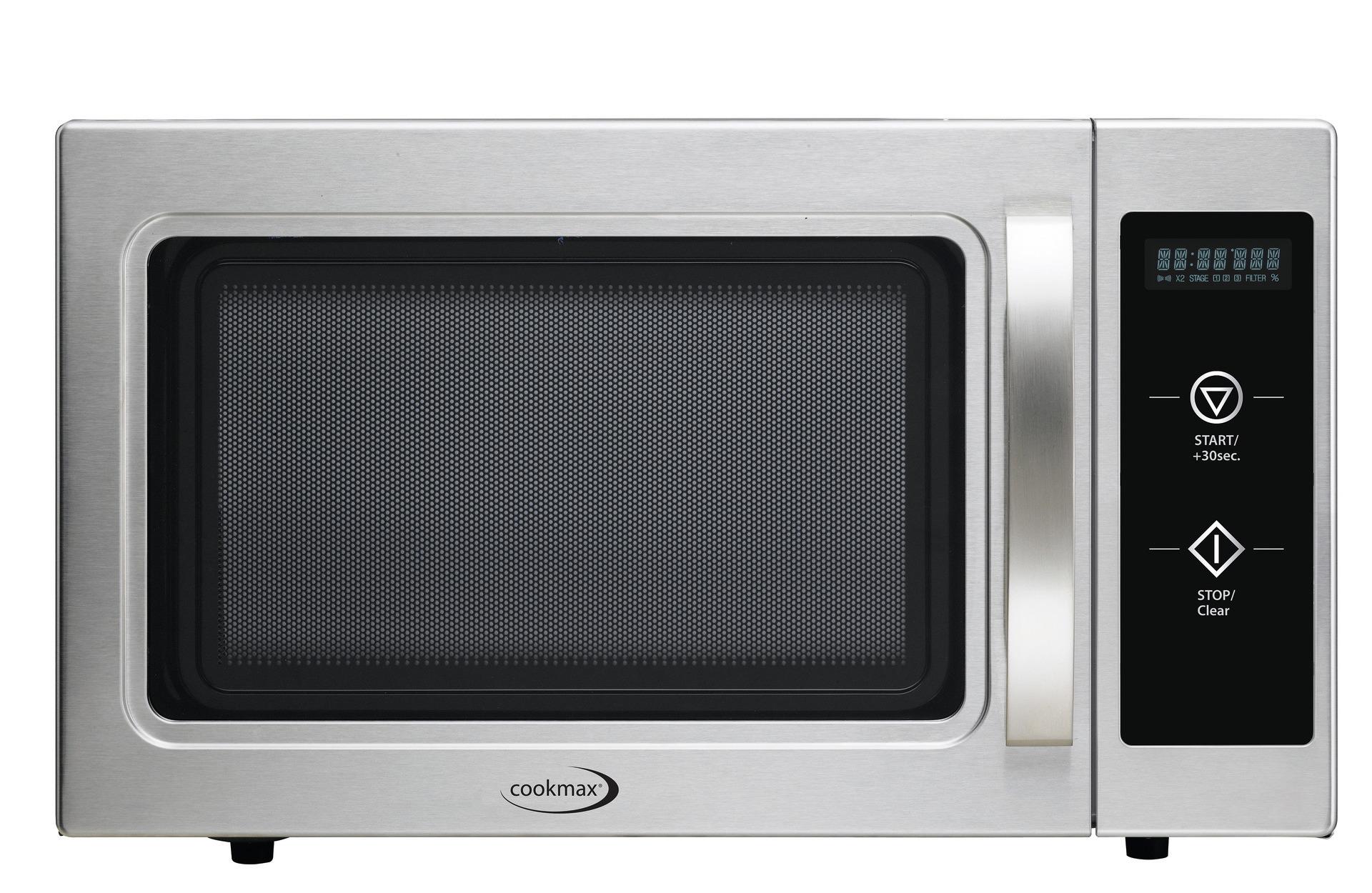 Gewerbe-Mikrowelle, Automatik, 1.100 W 29 l, 542 x 461 x 330 mm