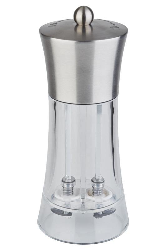 Salz- / Pfeffermühle 2 in 1 / 185 mm Keramik-Mahlwerk