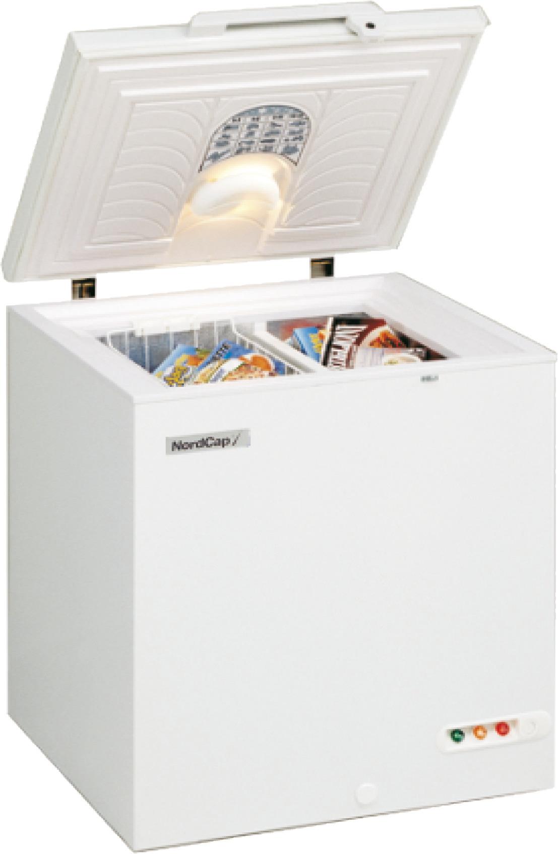 Energiespar-Tiefkühltruhe 130,00 l /  für 1 Korb / steckerfertig