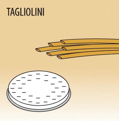 Matrize Tagliolini für Nudelmaschine 516002 bis 516004