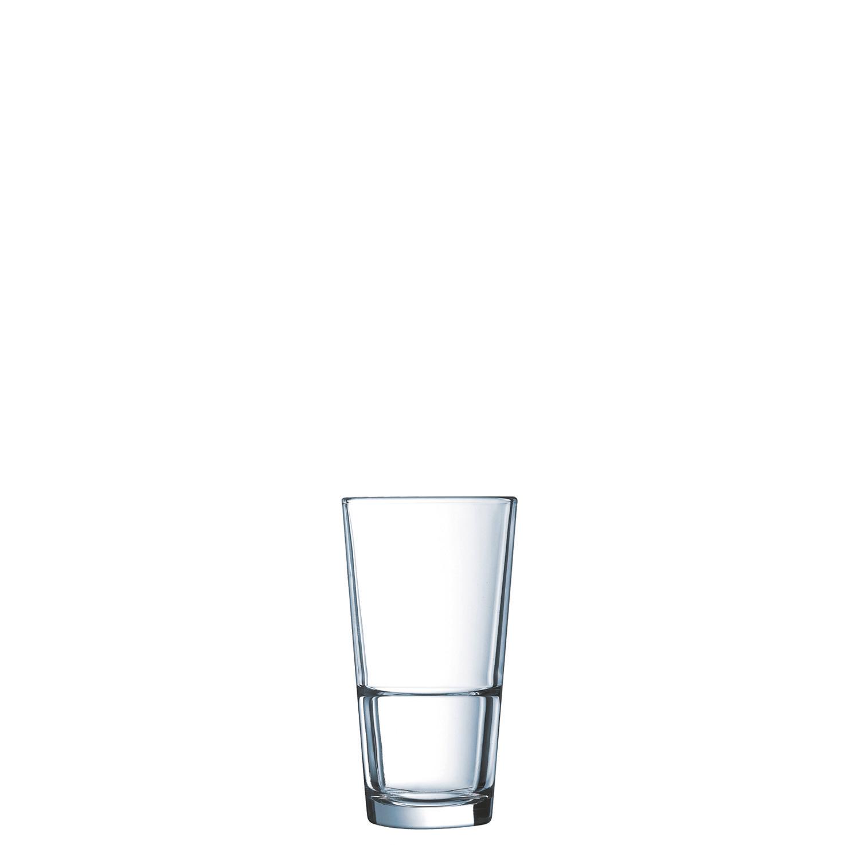 """Longdrinkglas """"FH29"""" stapelbar 76 mm / 0,29 l 0,20 /-/ transparent"""