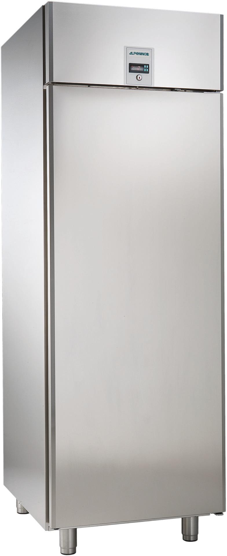 Umluft-Tiefkühlschrank 670,00 l /  für GN 2/1 / mit Volltür /zentralgekühlt