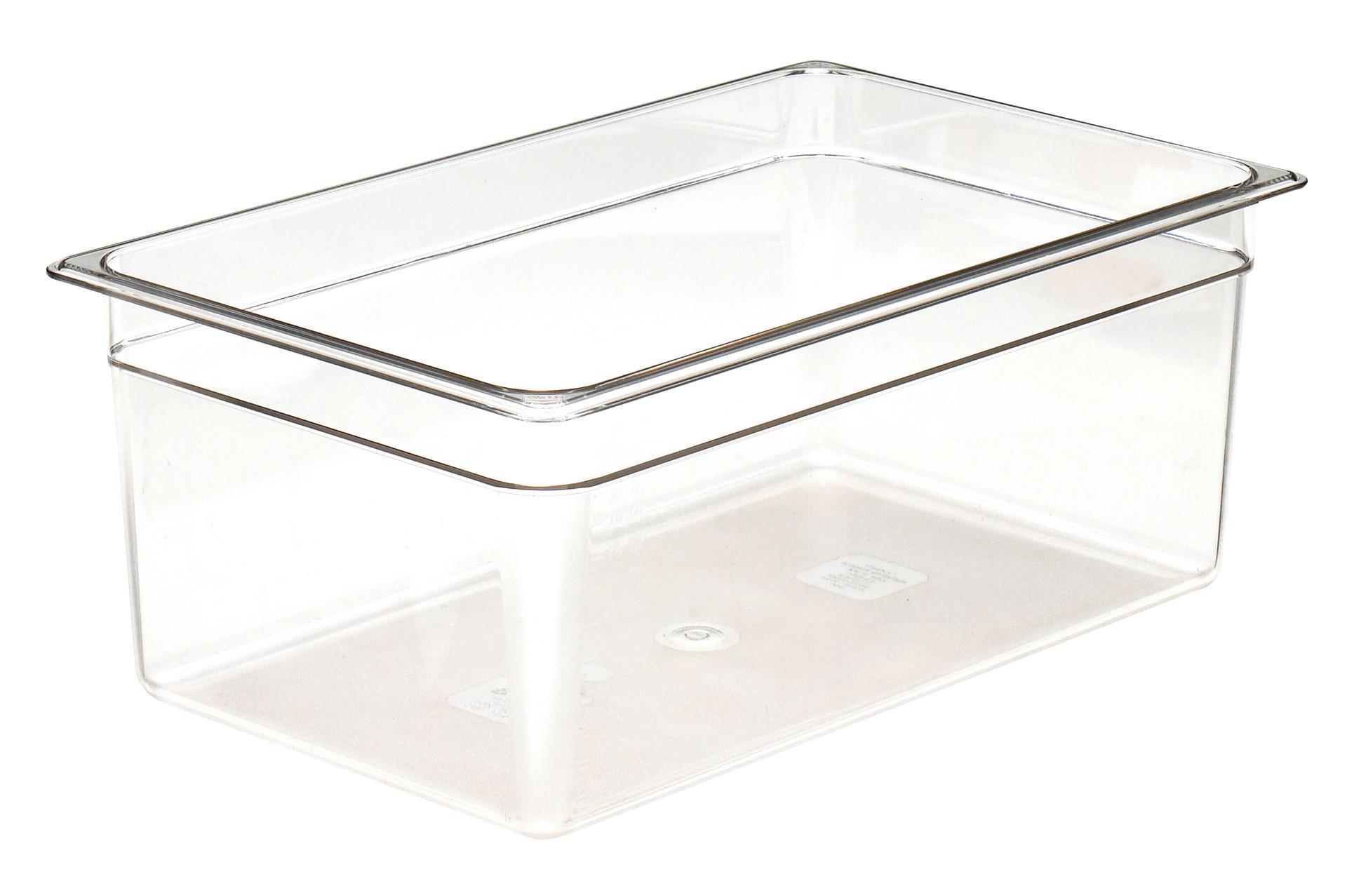 GN-Behälter GN 1/1 25,60 l / 530 x 325 x 200 mm durchsichtig