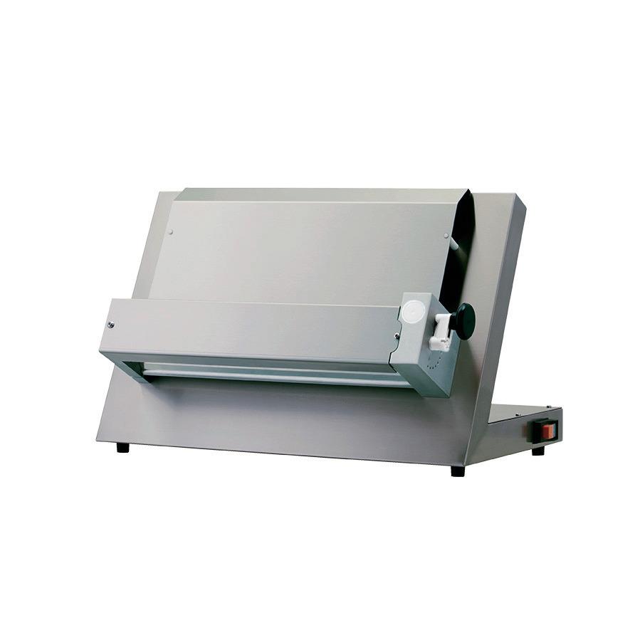 Teig-Ausrollmaschine für Pizzen bis ø 340 mm / 500 x 400 x 450 mm