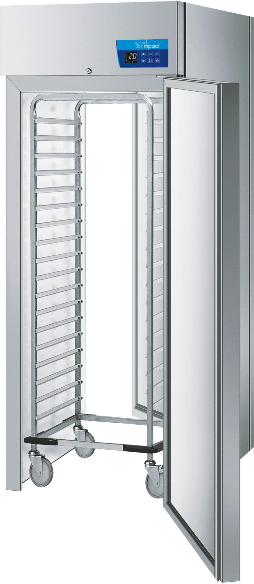 Durchfahr-Kühlschrank 720,00 l /  GN 2/1 / zentralgekühlt