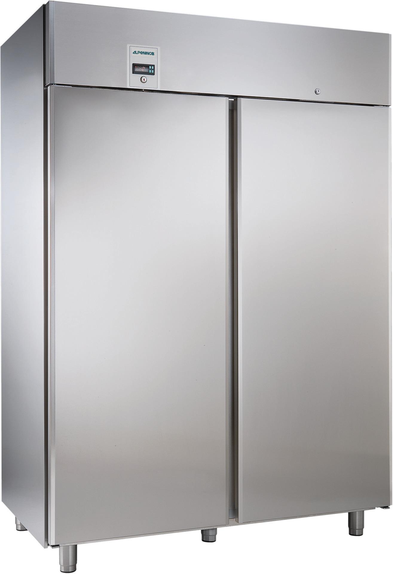 Umluft-Tiefkühlschrank 1430,00 l /  für GN 2/1 / mit Volltür /zentralgekühlt