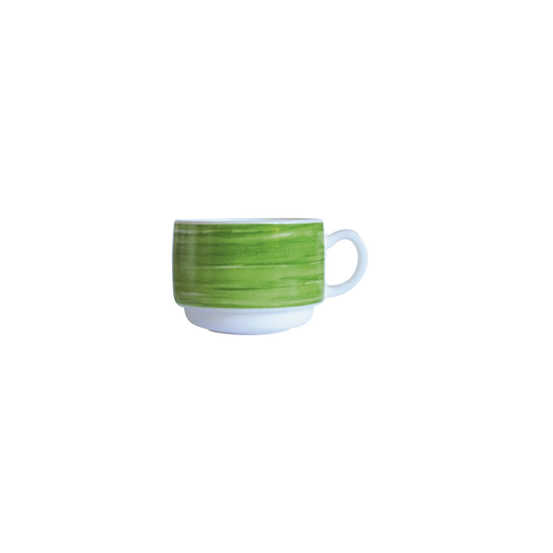 Gastronomie Tasse stapelbar 78 mm / 0,19 l grün