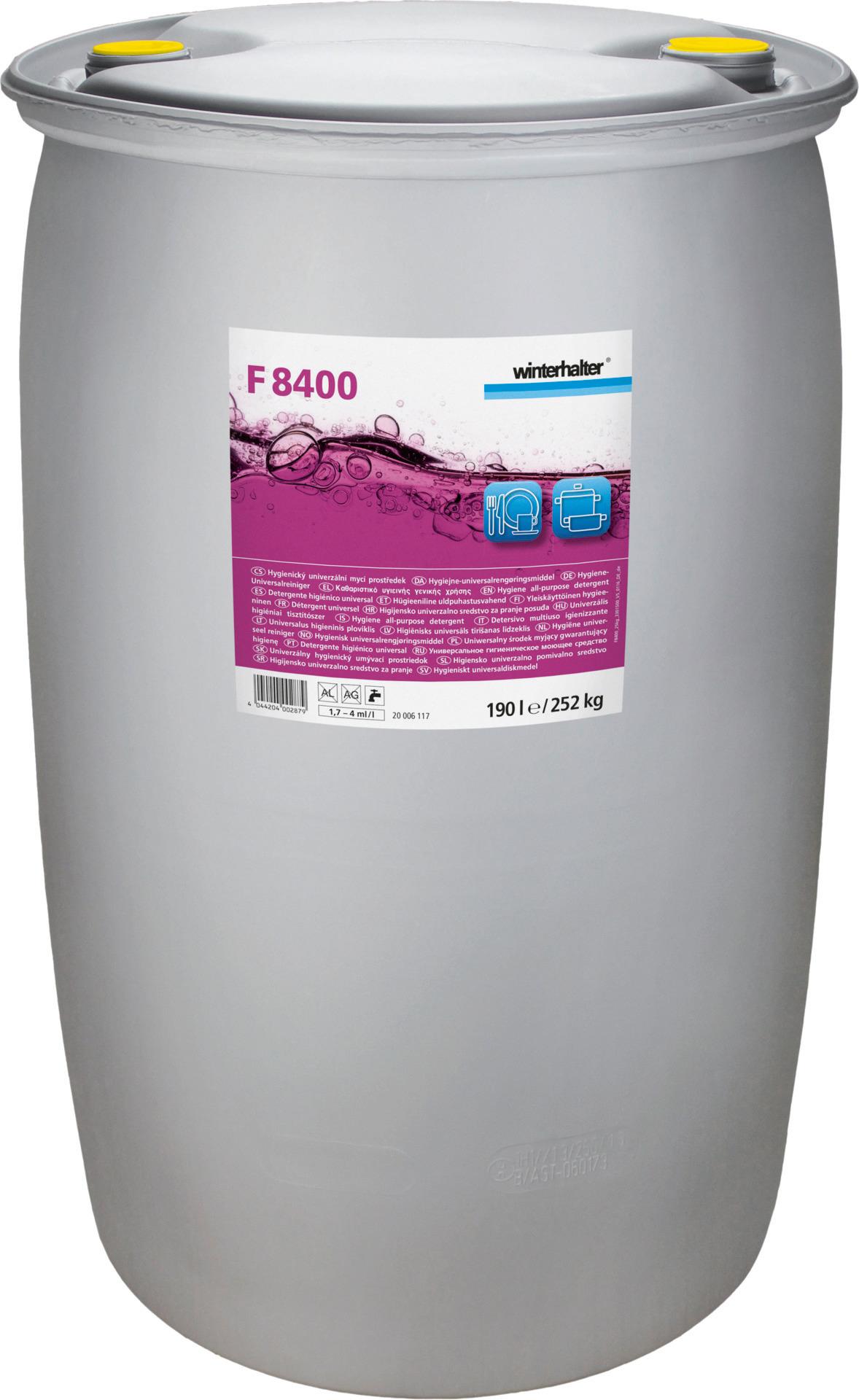Hygiene-Universalreiniger F 8400 / 252,00 kg Fass