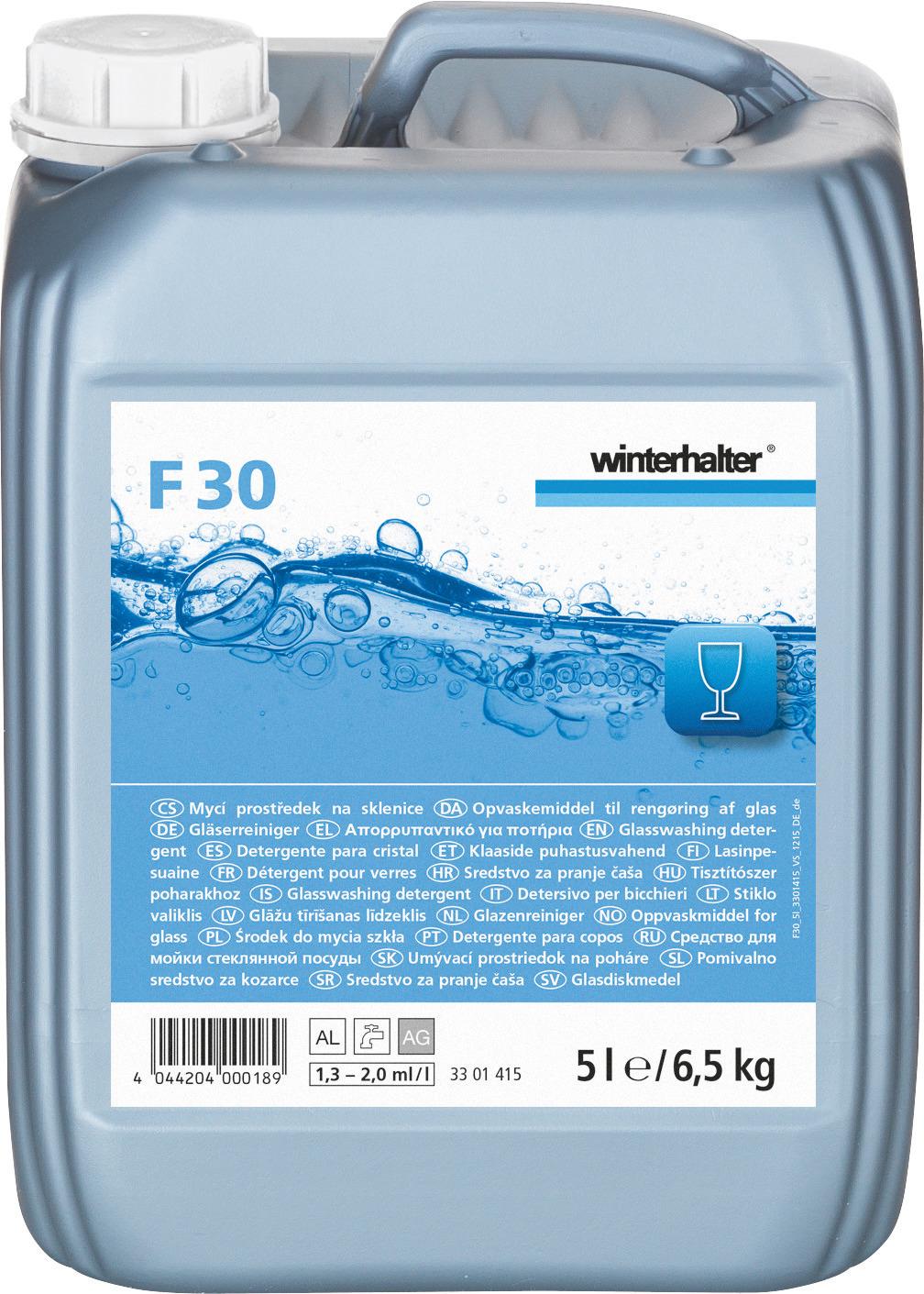 Gläserreiniger F 30 / 5,00 l Kanister