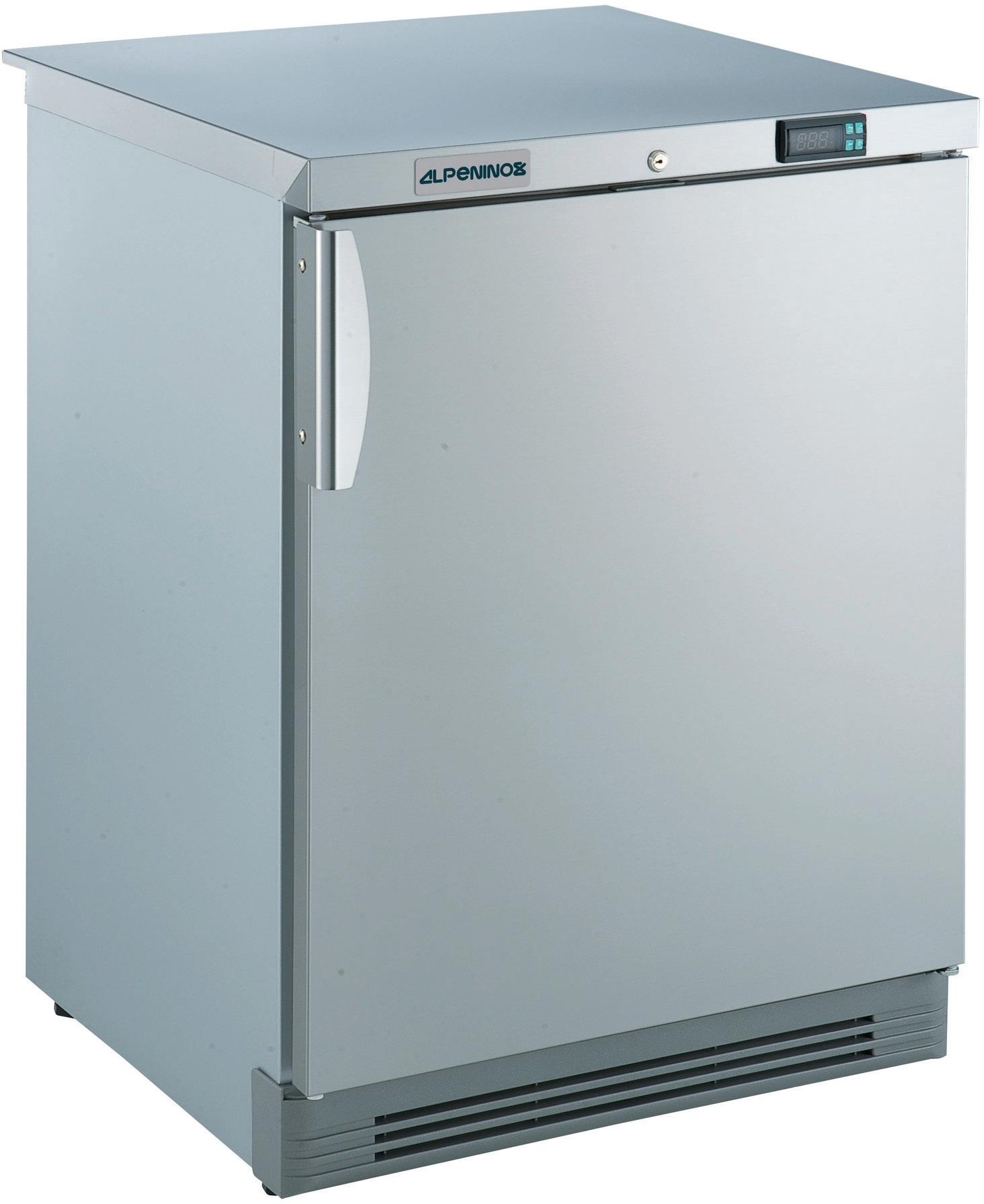 Tiefkühlschrank 110,00 l / statische  Kühlung / mit CHR Volltür /unterbaufähig