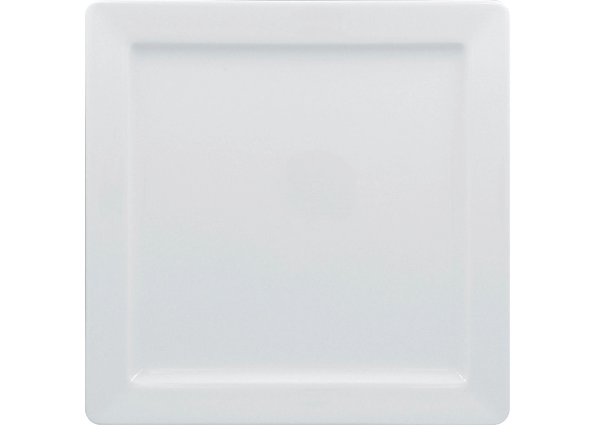 Teller quadratisch 270 x 270 mm bright-white