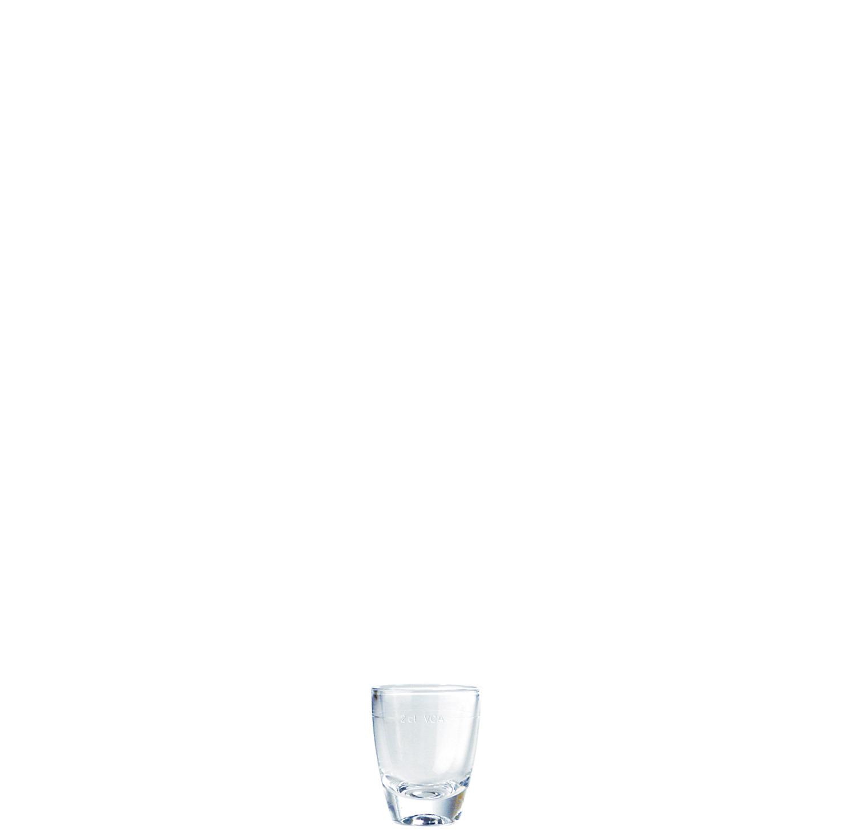 """Schnapsglas """"12"""" 42 mm / 0,04 l 0,02 /-/ transparent (24er Pack)"""