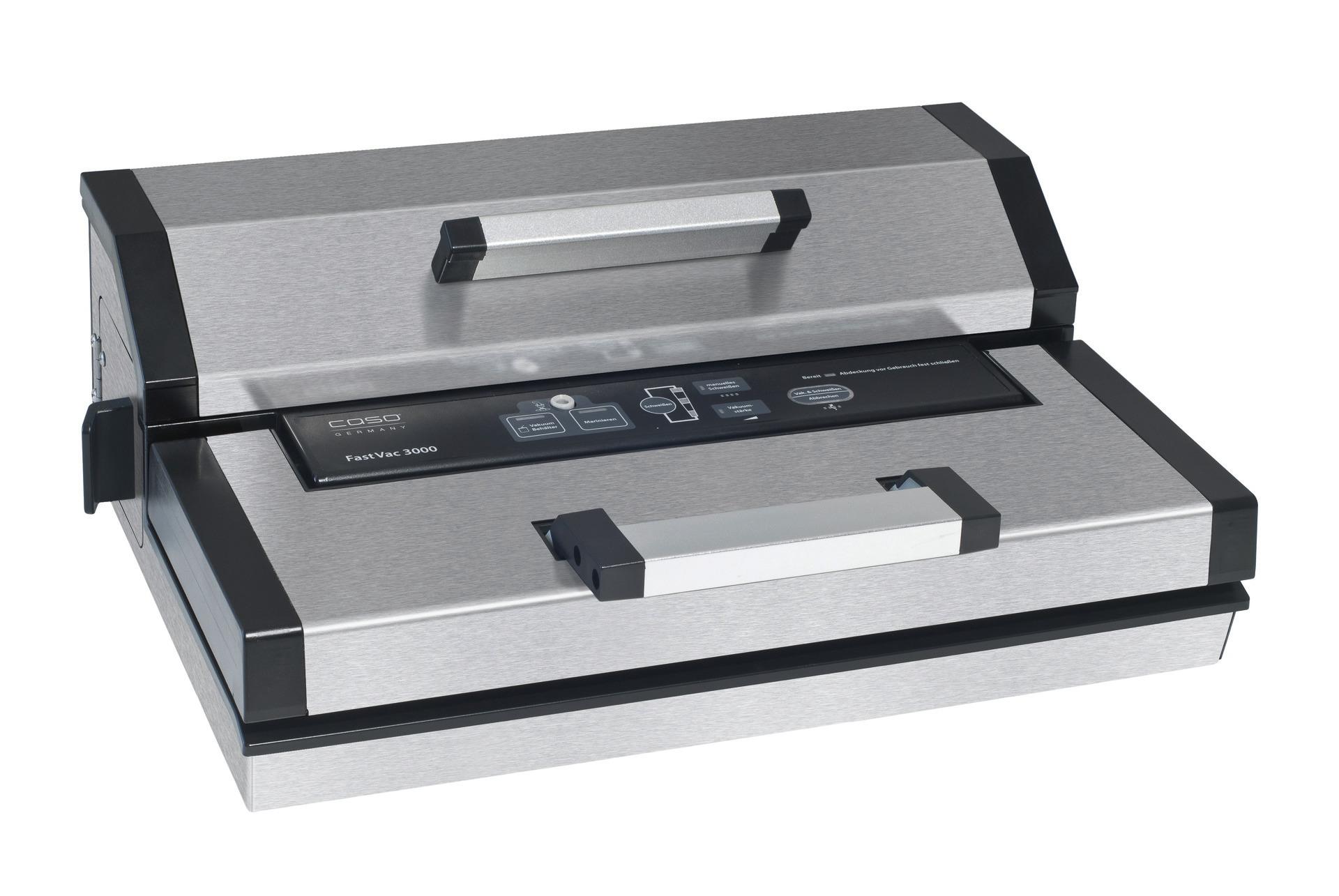 Vakuumiergerät 1,2 m³/h vollautomatisch Schweißbalken 300 mm, 430 x 310 x 160 mm