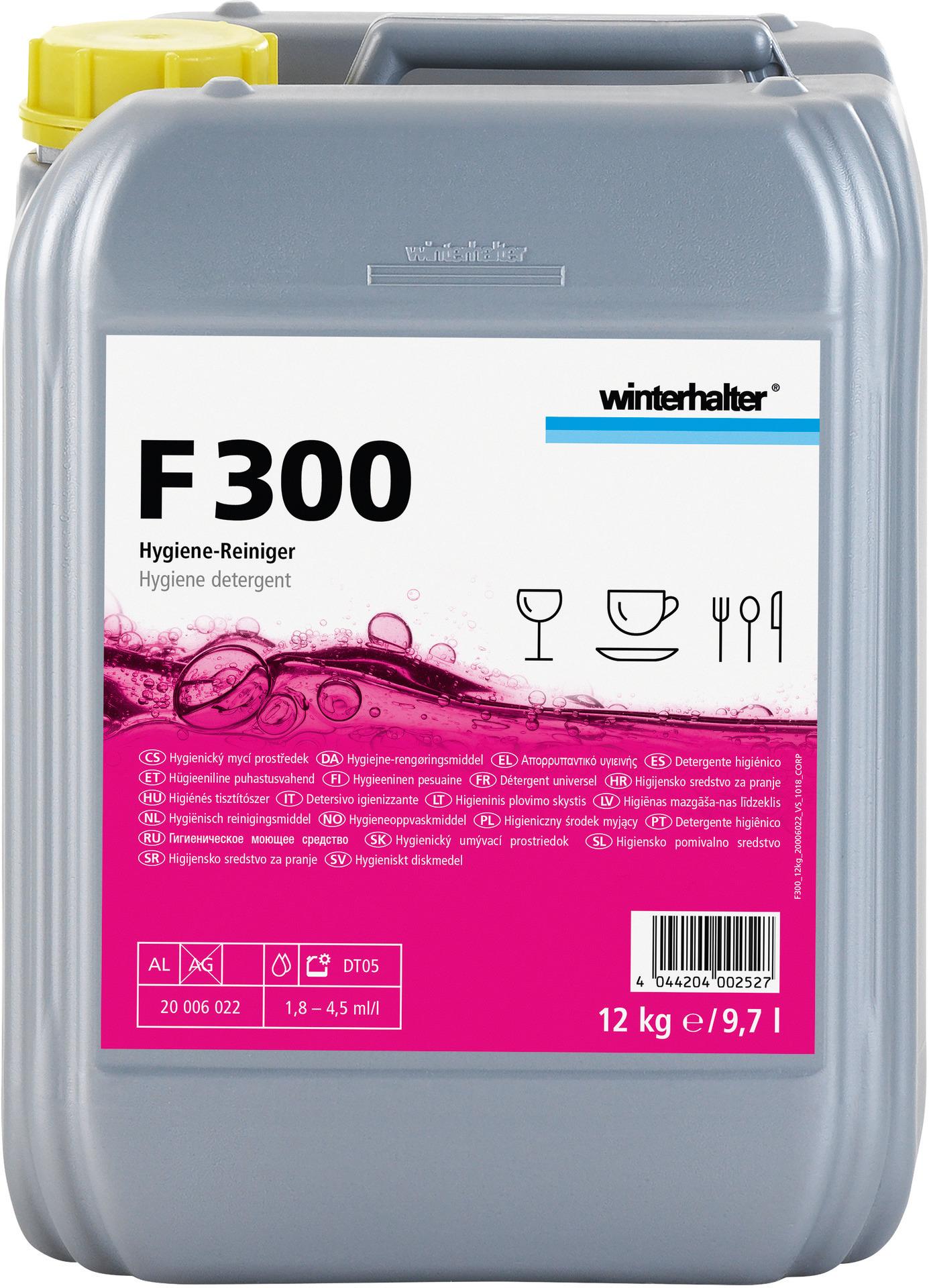 Hygiene-Bistroreiniger F 300 / 12,00 kg Kanister