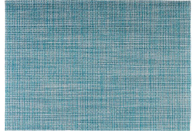 Tischset Feinband 450 x 330 mm türkis / grün / weiß