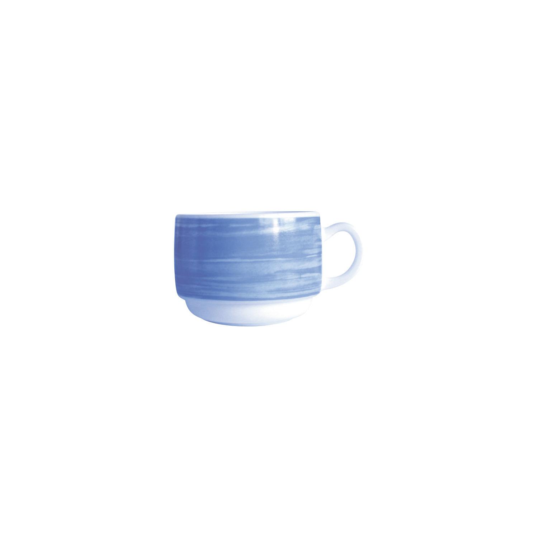 Gastronomie Tasse stapelbar 78 mm / 0,19 l blau