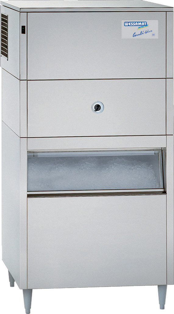 Eiswürfelbereiter W 240 ECW / 240 kg/24h / 220,00 kg Vorrat / Wasserkühlung