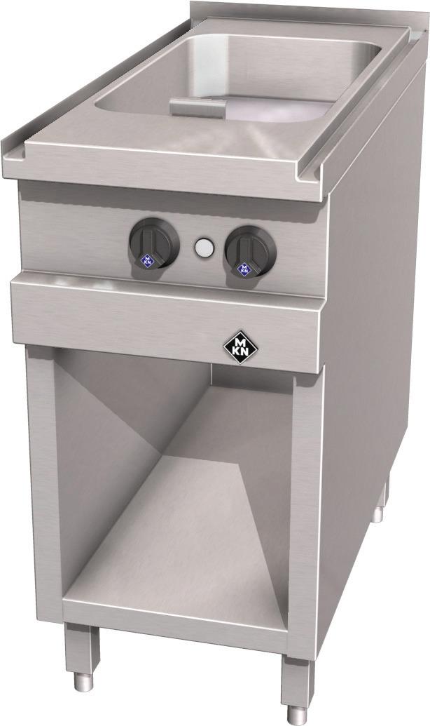 Elektro-Griddlepfanne 15,00 l / 3/4 Supra / Bratfläche 300 x 540 x 100 mm