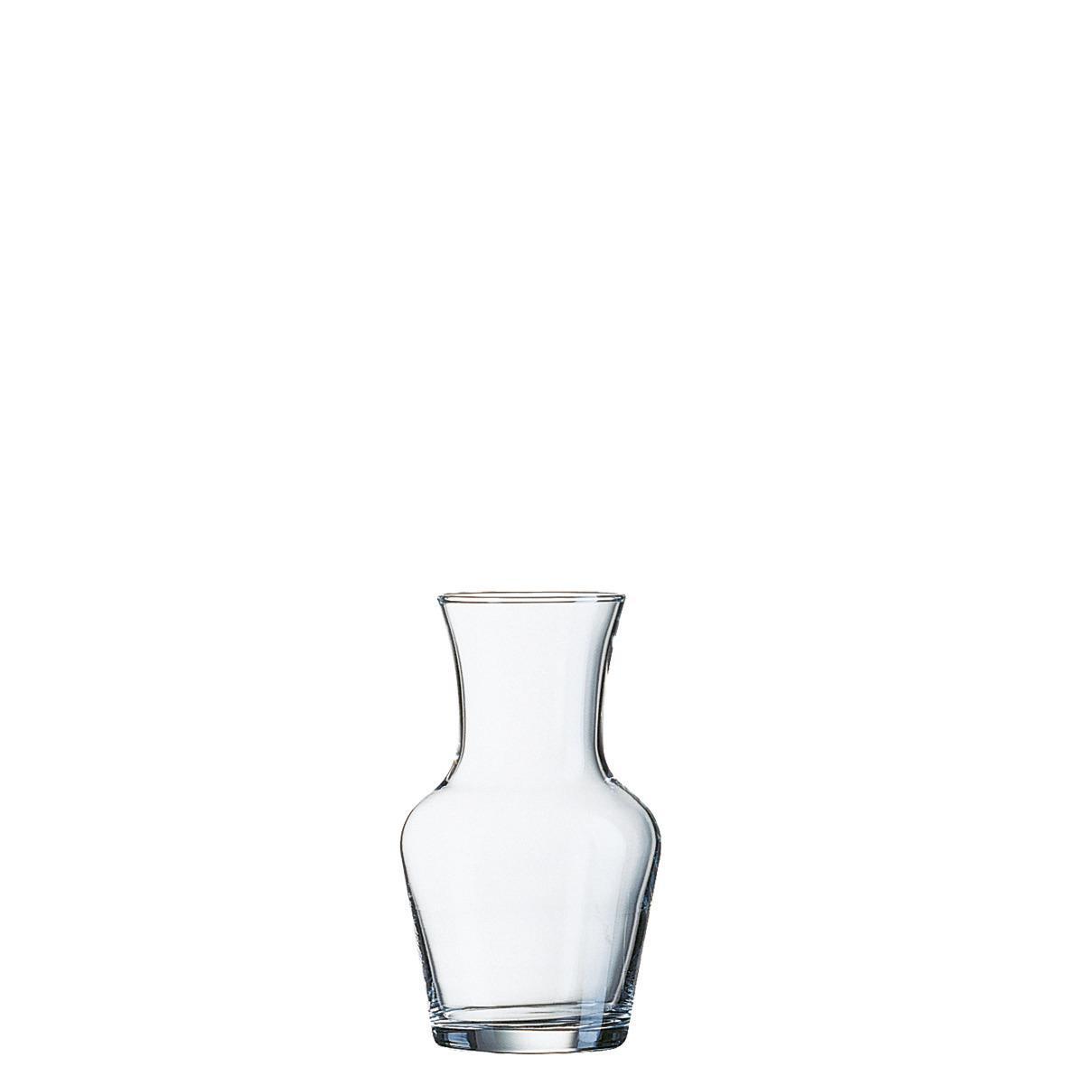 Glaskaraffe 72 mm / 0,31 l 0,25 /-/ transparent