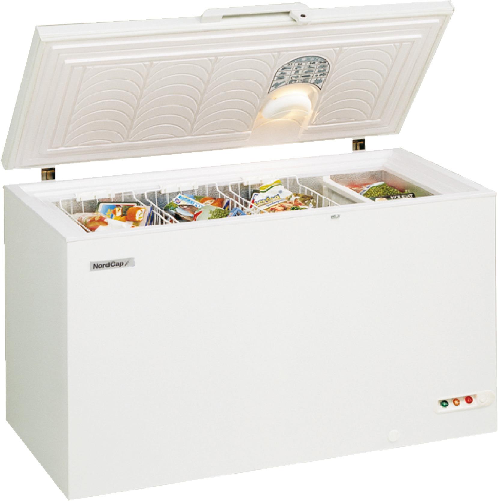 Energiespar-Tiefkühltruhe 300,00 l /  für 3 Körbe / steckerfertig