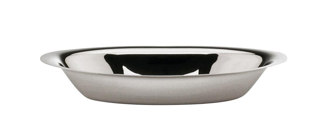 Brotkorb oval 308 x 165 x 50 mm versilbert