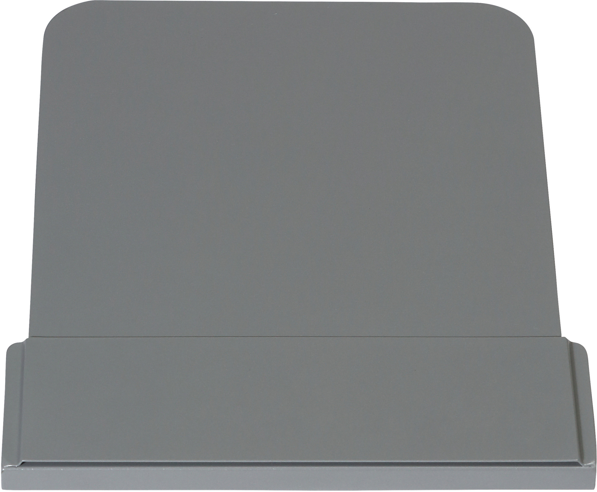 Anzeigetafel grau für Abfalleimer 861109 bis 861116