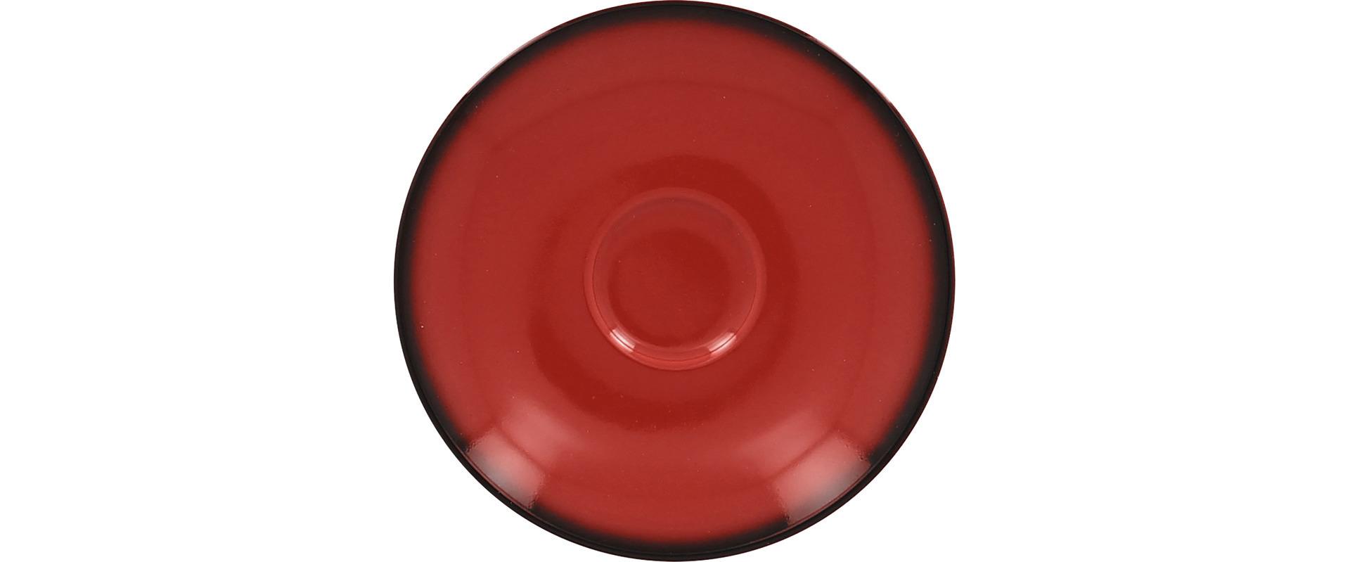 Espresso-Untertasse 150 mm rot für Espressotasse CLCU23 + CLCU21
