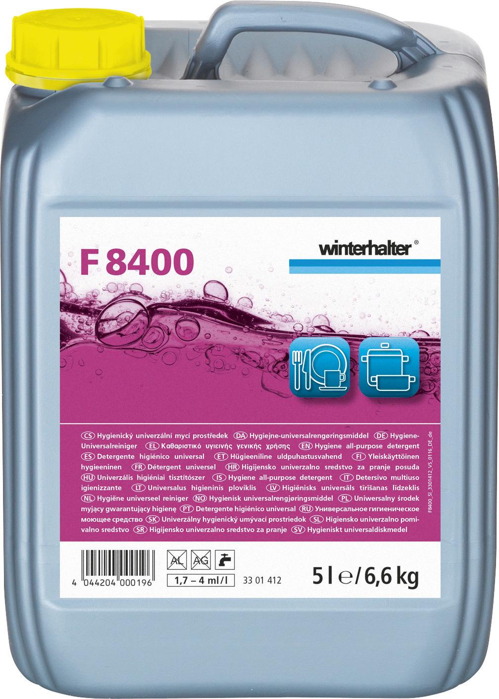 Hygiene-Universalreiniger F 8400 / 5,00 l Kanister