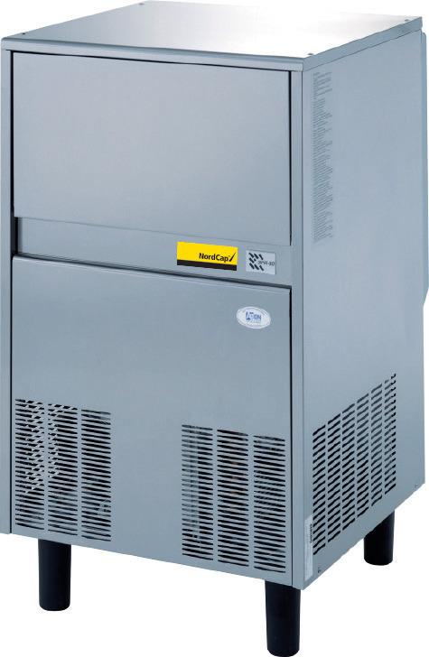 Flockeneisbereiter SPR 80 W / 25,00 kg Vorrat / 73,00 kg/24h / Wasserkühlung