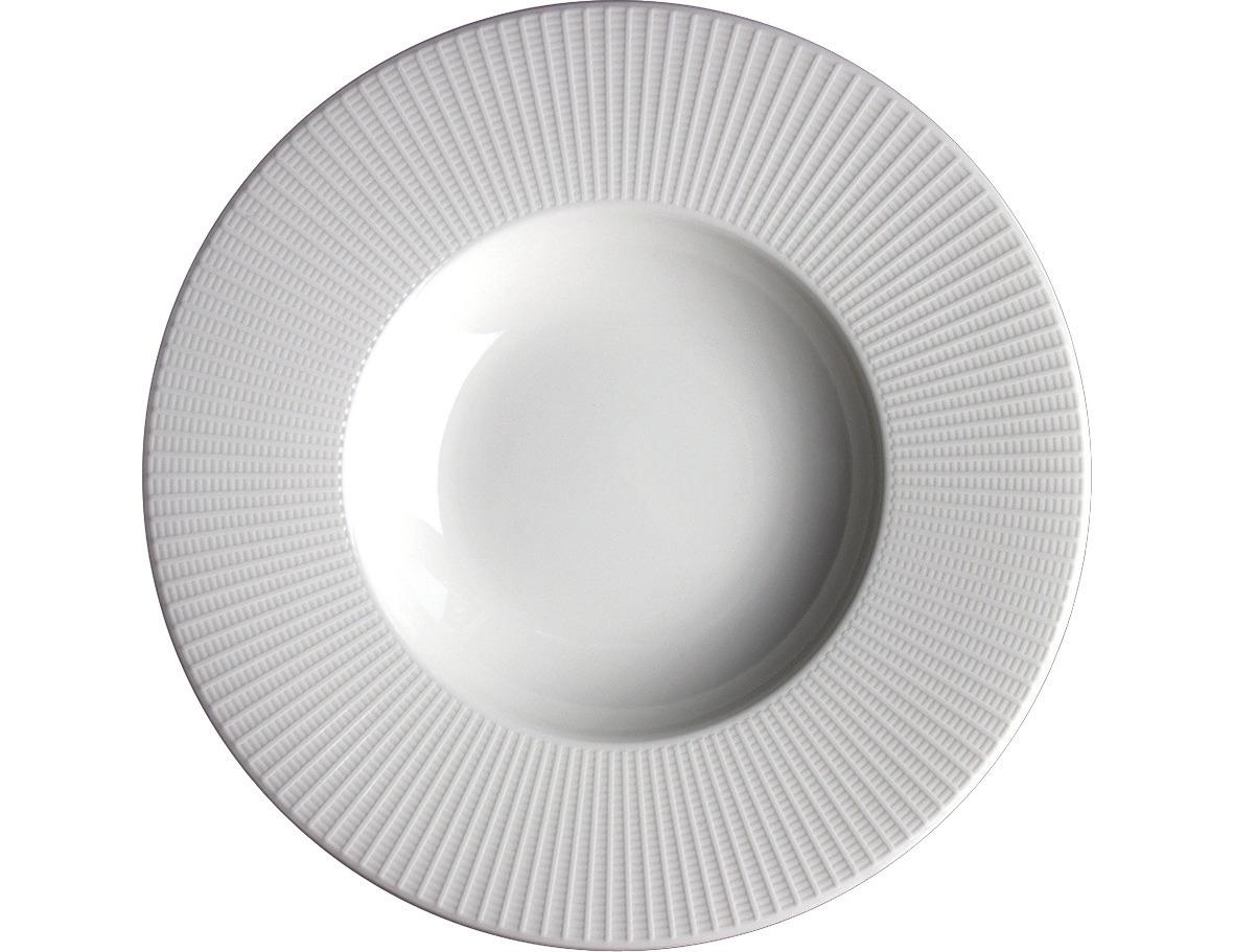 Gourmet-Pastateller 285 mm weiß