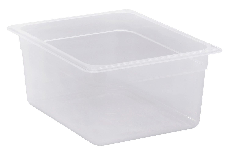 GN-Behälter GN 1/2 8,90 l / 325 x 265 x 150 mm transparent