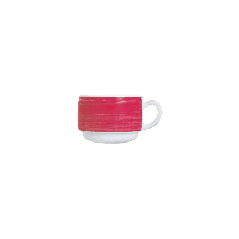 Gastronomie Tasse stapelbar 78 mm / 0,19 l rot