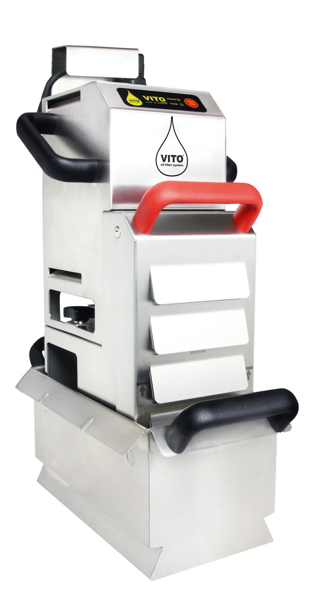 Frittierölfilter Vito 50 / Leistung bis  zu 50,00 l/min. / Sogtiefe bis 350 mm