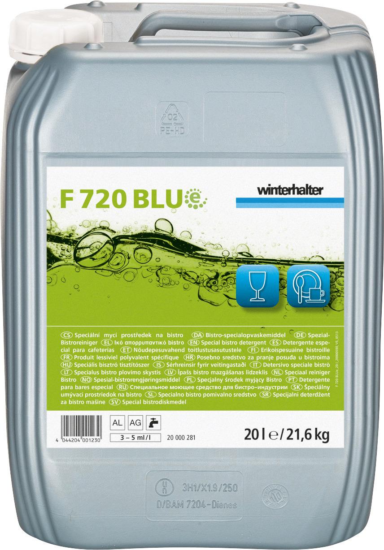Spezial-Bistroreiniger F 720 BLUe / 20,00 l Kanister