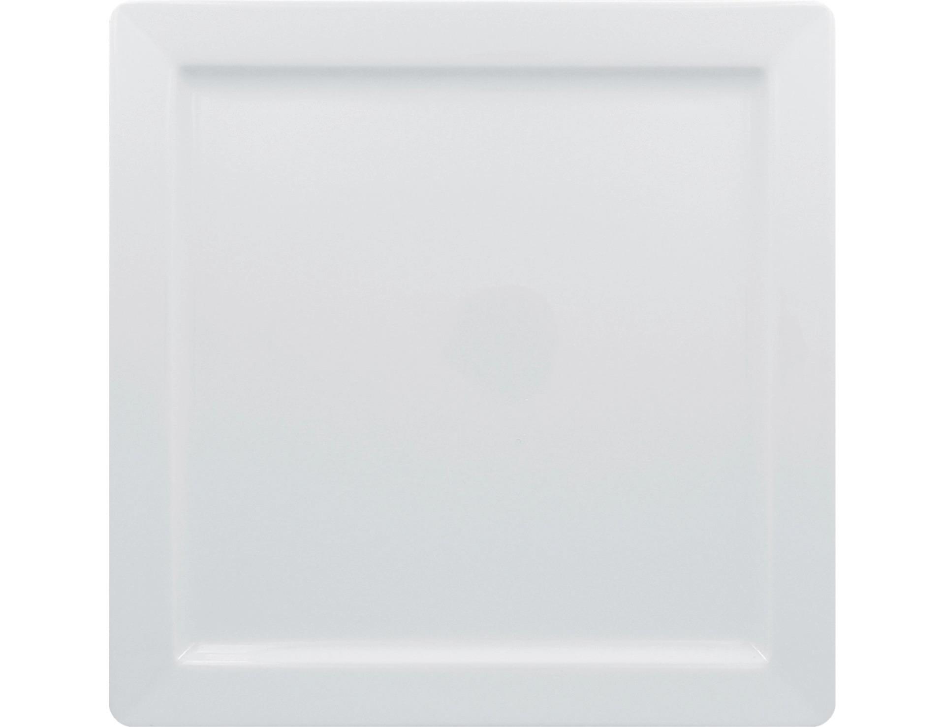 Teller quadratisch 300 x 300 mm bright-white