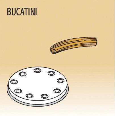 Matrize Bucatini für Nudelmaschine 516002 bis 516004